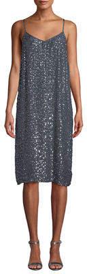 Velvet by Graham & Spencer Sleeveless Sequin Shift Dress