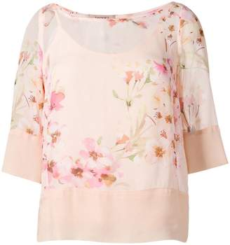 Twin-Set blossom print blouse