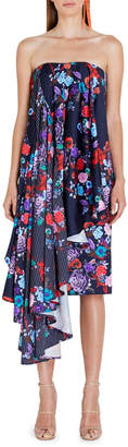 Asilio Nyxie Floral Contrast Dress