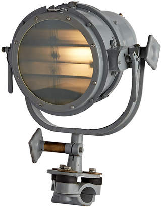 Rejuvenation Large Nautical Morse Code Clamp Light by Carlisle & Finch