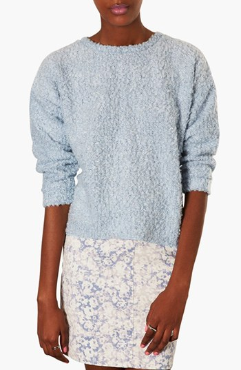 Topshop Textured Sweater