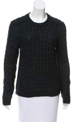 Tory Burch Metallic Wool Sweater