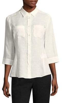 Max Mara Button-Front Shirt