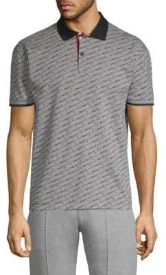 Bally Cotton Piquet Monogram Polo