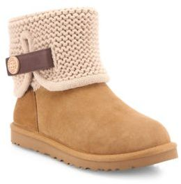 UGG Shaina Classic Knit Boots $170 thestylecure.com