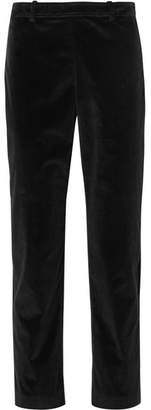 Roland Mouret Pearson Stretch-corduroy Skinny Pants - Black