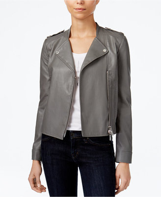 Armani Exchange Moto Jacket, A Macy's Exclusive Style $220 thestylecure.com