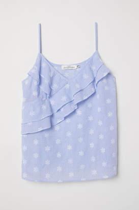 H&M Sleeveless Top - Blue