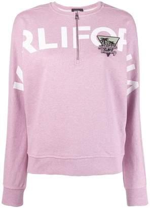 Karl Lagerfeld Paris Karlifornia Cropped Sweatshirt
