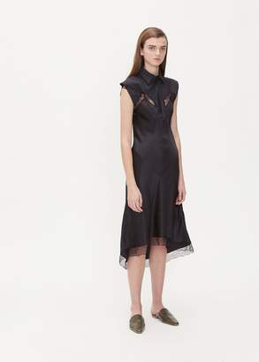 Maison Margiela Sleeveless Collared Dress