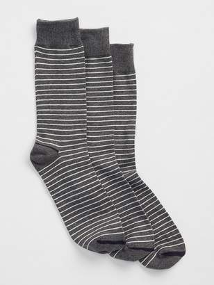 Gap Stripe crew socks (3-pack)