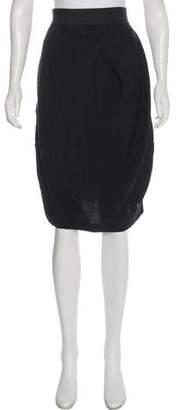 Elizabeth and James Pleated Knee-Length Skirt