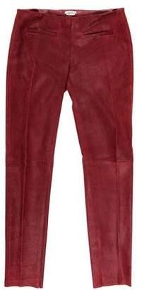 Miu Miu Mid-Rise Skinny Pants