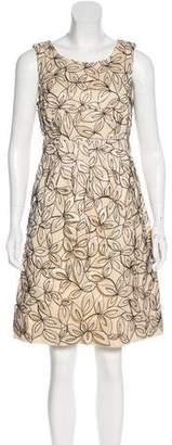 Lela Rose Sleeveless Casual Dress