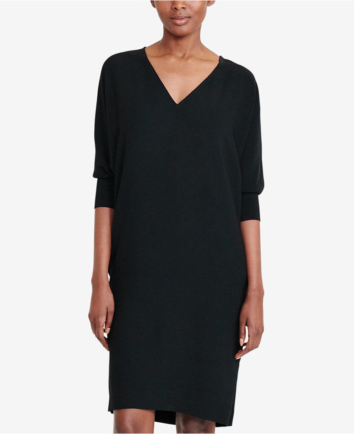 Lauren Ralph Lauren Crepe Shift Dress 2