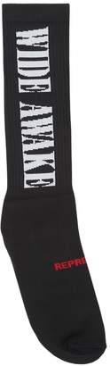 Wide Awake Knit Socks