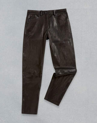 Belstaff Mistley Leather Trousers