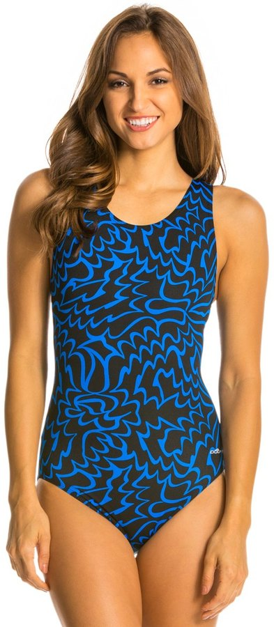 Dolfin Solstice Moderate Lapsuit One Piece Swimsuit 8135655