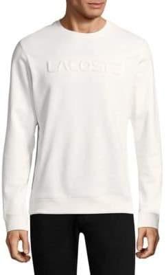 Lacoste Crewneck Cotton Sweatshirt