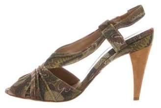 Missoni Abstract Print Sandals