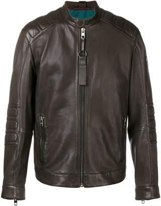 HUGO BOSS zipped biker jacket