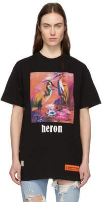 Heron Preston Black Herons T-Shirt