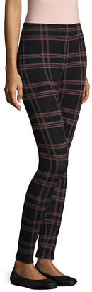 MIXIT Mixit Knit Plaid Print Leggings