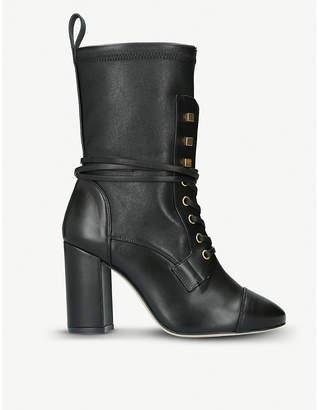 Stuart Weitzman Veruka leather sock booties