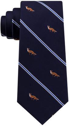 Club Room Men's Standing Fox Silk Tie