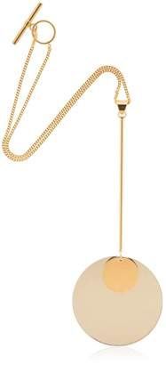Jil Sander Circle Pendant Necklace