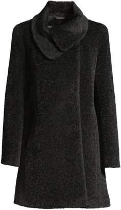Cinzia Rocca Icon Wrap-Neck Coat