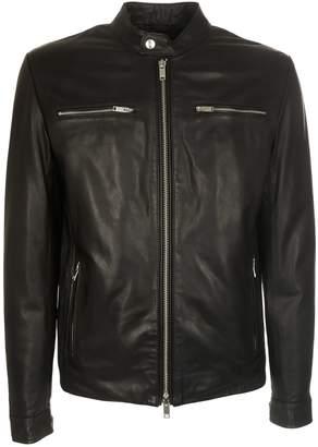 Dondup Four Pocket Leather Jacket