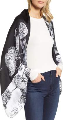 Ted Baker Narrnia Silk Cape Scarf