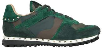 Valentino Leather Studded Sneakers