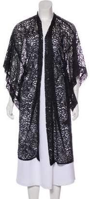 Anna Sui Lace Longline Kimono w/ Tags