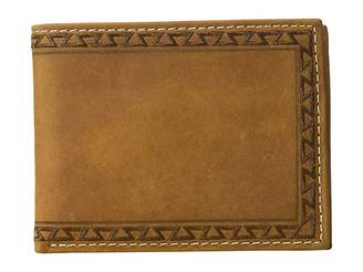 Ariat Aztec Embossed Edge Bifold Wallet