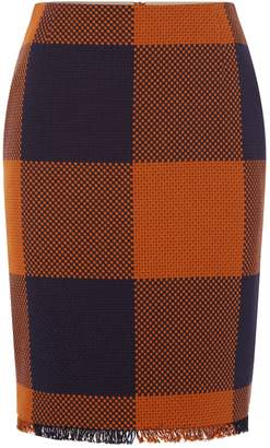 HUGO BOSS Farolie Check Skirt