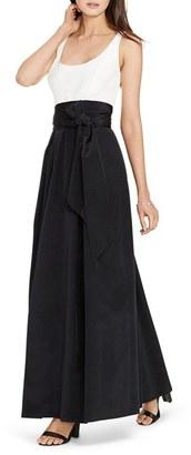 Lauren Ralph Lauren Faille Fit & Flare Gown $260 thestylecure.com
