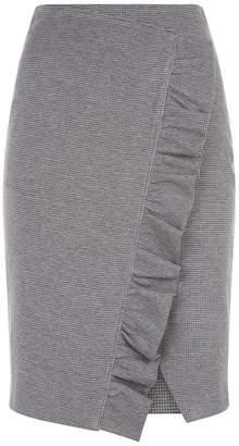 SET Ruffle Pencil Skirt