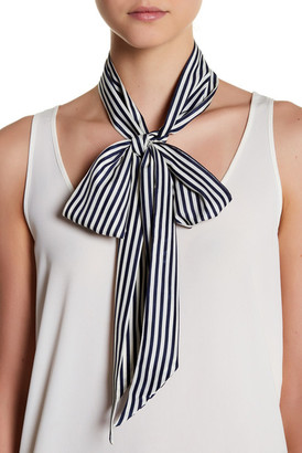 14th & Union Striped Skinny Scarf $16.97 thestylecure.com