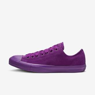 Converse Chuck Taylor All Star Suede Mono Color Low Top Womens Shoe