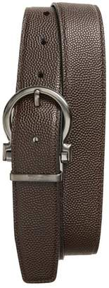Salvatore Ferragamo Salvatore Ferragaom Reversible Leather Belt