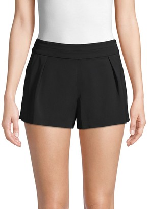 Parker Pleated Banded Shorts