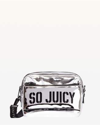 Juicy Couture JXJC Kira Mirror Metallic Crossbody Bag