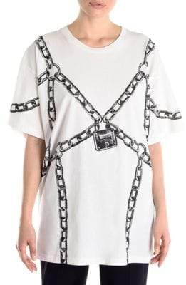 Moschino Chain Logo T-Shirt