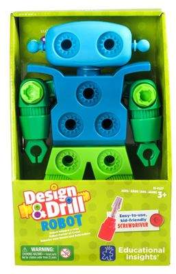 Educational Insights Learning Resources Learning Resources Design And Drill Robot