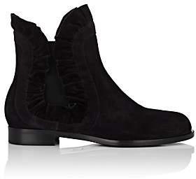 SAMUELE FAILLI Women's Adam Suede Chelsea Boots-Black