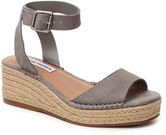 Women's Elody Wedge Sandal -Tan $80 thestylecure.com