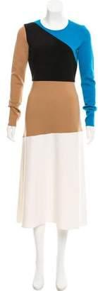 Diane von Furstenberg Merino Wool Sweater Dress