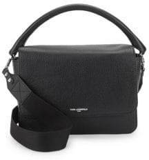 Structured Leather Satchel